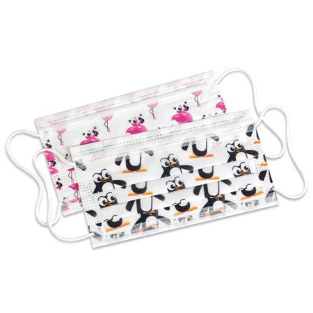 Zooby Kids Earloop Mask - Box of 30