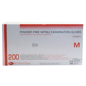 Nitrile Medium Examination Gloves, Box of 200