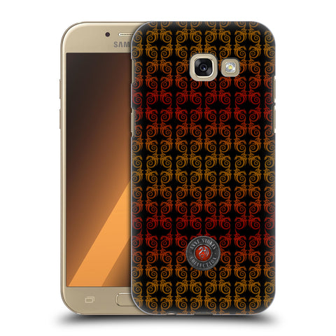 Official Anne Stokes Fire Tribal Hard Back Case for Samsung Galaxy A5 (2017)