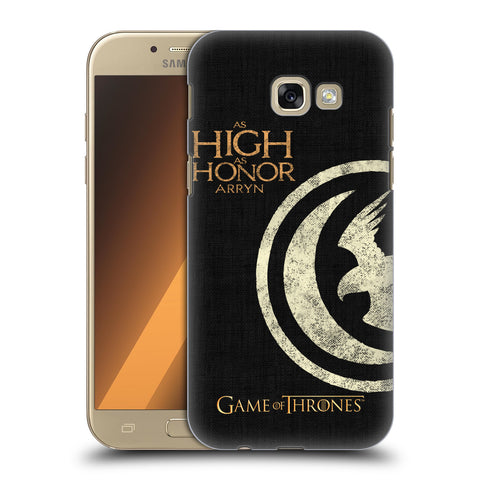 Official HBO Game of Thrones House Mottos Hard Back Case for Samsung Galaxy A5 (2017)