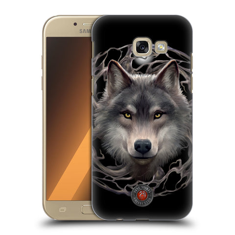 Official Anne Stokes Wolves 2 Hard Back Case for Samsung Galaxy A5 (2017)