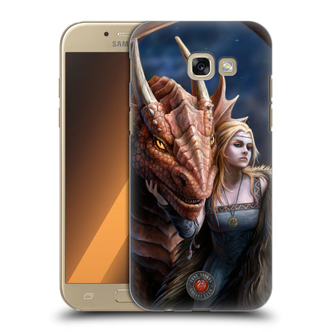 Official Anne Stokes Dragon Friendship 2 Hard Back Case for Samsung Galaxy A5 (2017)