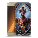 Official Anne Stokes Dragon Friendship Hard Back Case for Samsung Galaxy A5 (2017)