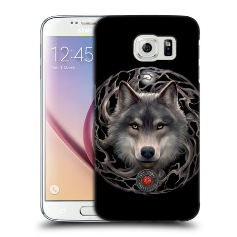 Official Anne Stokes Wolves 2 Hard Back Case for Samsung Galaxy S6