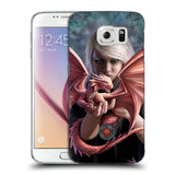 Official Anne Stokes Dragon Friendship Hard Back Case for Samsung Galaxy S6