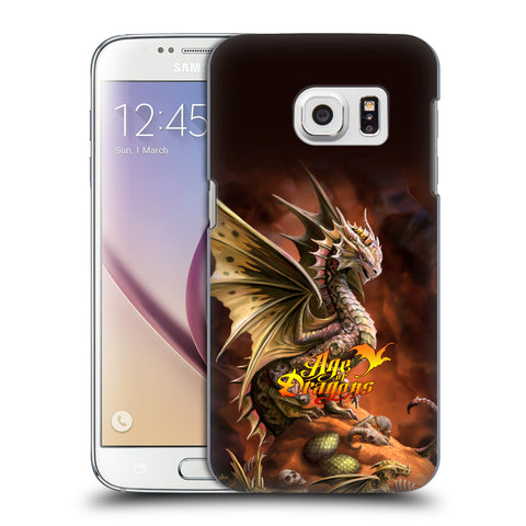 Official Anne Stokes Age Of Dragons Hard Back Case for Samsung Galaxy S7