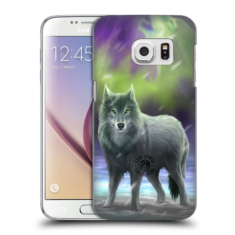 Official Anne Stokes Wolves Hard Back Case for Samsung Galaxy S7