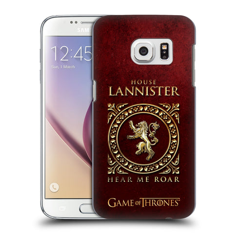 Official HBO Game of Thrones Metallic Sigils Hard Back Case for Samsung Galaxy S7
