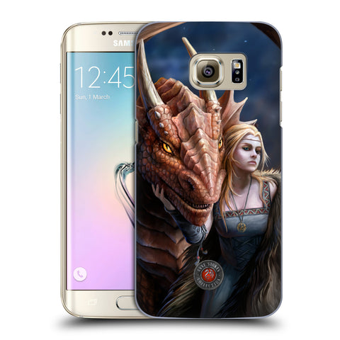 Official Anne Stokes Dragon Friendship 2 Hard Back Case for Samsung Galaxy S7 Edge