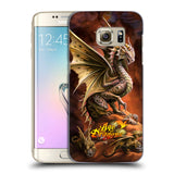 Official Anne Stokes Age Of Dragons Hard Back Case for Samsung Galaxy S7 Edge