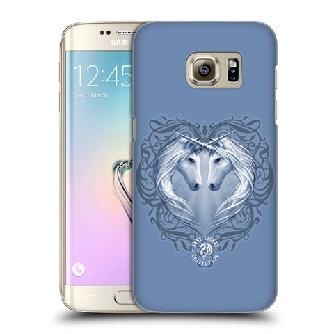 Official Anne Stokes Unicorns 2 Hard Back Case for Samsung Galaxy S7 Edge