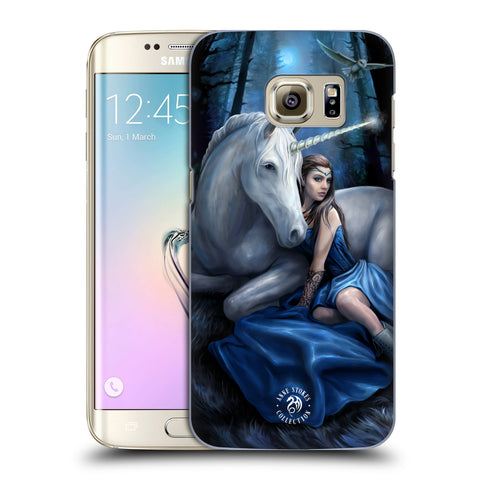 Official Anne Stokes Unicorns Hard Back Case for Samsung Galaxy S7 Edge