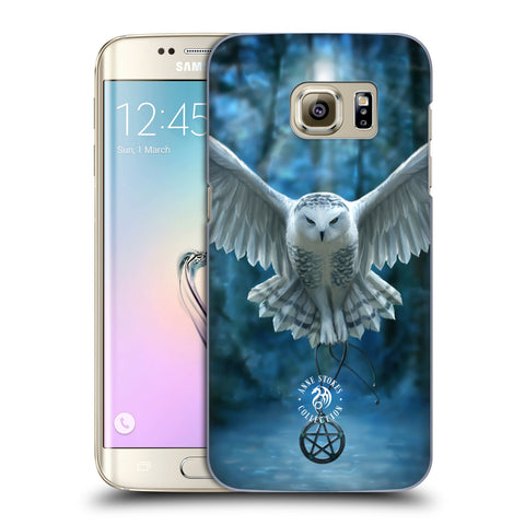 Official Anne Stokes Owls Hard Back Case for Samsung Galaxy S7 Edge
