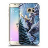 Official Anne Stokes Yule Hard Back Case for Samsung Galaxy S7 Edge
