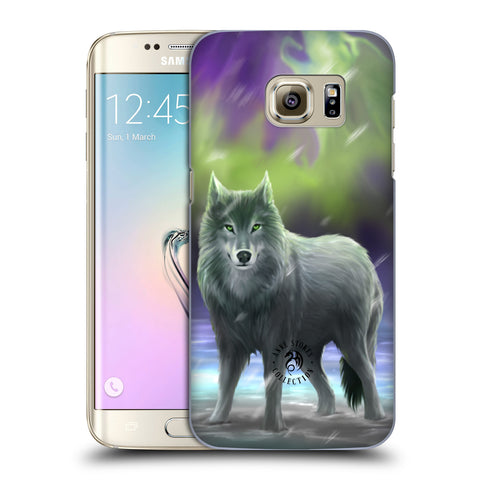 Official Anne Stokes Wolves Hard Back Case for Samsung Galaxy S7 Edge
