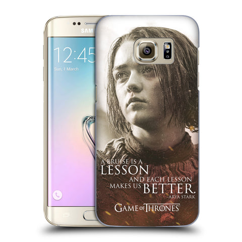 Official HBO Game of Thrones Character Portraits Hard Back Case for Samsung Galaxy S7 Edge