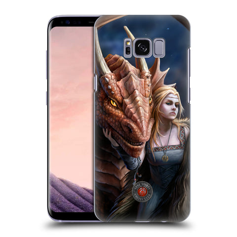 Official Anne Stokes Dragon Friendship 2 Hard Back Case for Samsung Galaxy S8