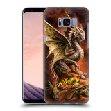 Official Anne Stokes Age Of Dragons Hard Back Case for Samsung Galaxy S8