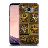 Official HBO Game of Thrones Golden Sigils Hard Back Case for Samsung Galaxy S8+ S8 Plus