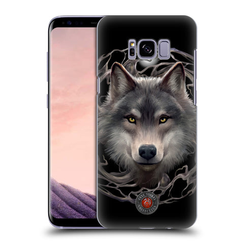 Official Anne Stokes Wolves 2 Hard Back Case for Samsung Galaxy S8+ S8 Plus