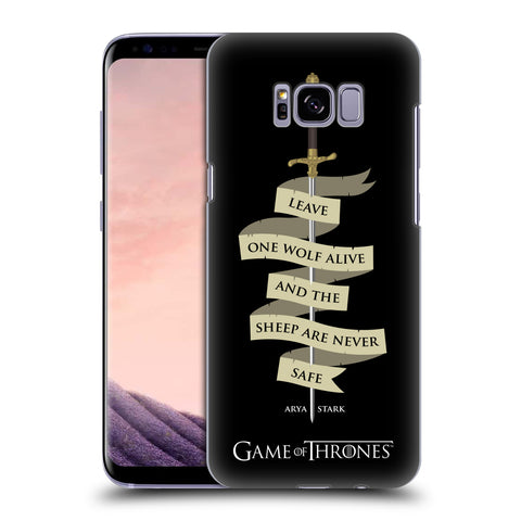 Official HBO Game of Thrones Graphics Hard Back Case for Samsung Galaxy S8+ S8 Plus