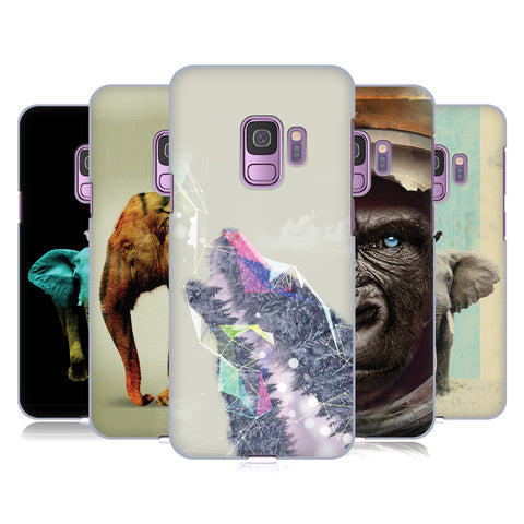 Official Vin Zzep Animals Hard Back Case for Samsung Galaxy S9