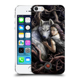 Official Anne Stokes Wolves 2 Hard Back Case for Apple iPhone 5 5S SE