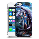 Official Anne Stokes Dragon Friendship 2 Hard Back Case for Apple iPhone 5 5S SE