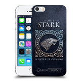 Official HBO Game of Thrones Metallic Sigils Hard Back Case for Apple iPhone 5 5S SE