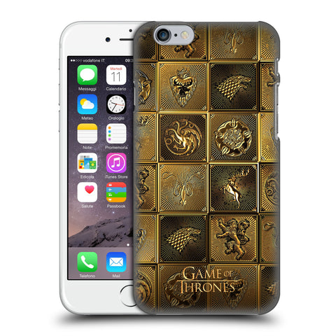 Official HBO Game of Thrones Golden Sigils Hard Back Case for Apple iPhone 6 6S