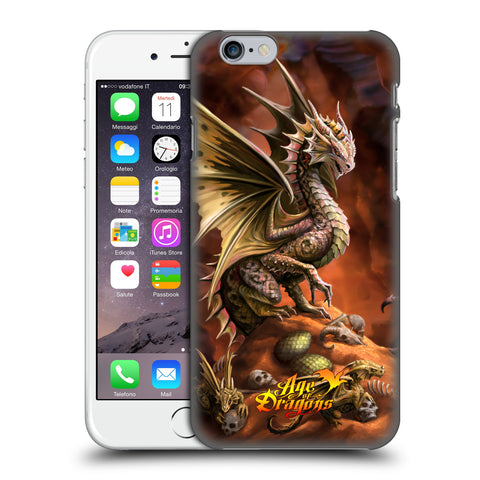 Official Anne Stokes Age Of Dragons Hard Back Case for Apple iPhone 6 6S