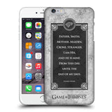 Official HBO Game of Thrones Graphics Hard Back Case for Apple iPhone 6 Plus / 6S Plus