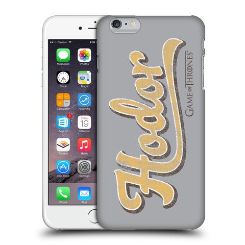 Official HBO Game of Thrones Hodor Hard Back Case for Apple iPhone 6 Plus / 6S Plus