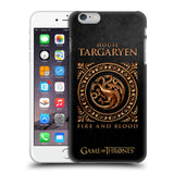 Official HBO Game of Thrones Metallic Sigils Hard Back Case for Apple iPhone 6 Plus / 6S Plus
