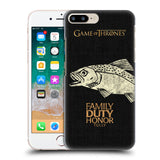 Official HBO Game of Thrones House Mottos Hard Back Case for Apple iPhone 7 Plus / 8 Plus