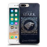Official HBO Game of Thrones Metallic Sigils Hard Back Case for Apple iPhone 7 Plus / 8 Plus