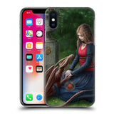 Official Anne Stokes Dragon Friendship Hard Back Case for Apple iPhone X / iPhone XS