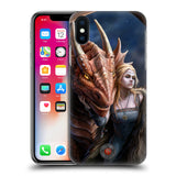 Official Anne Stokes Dragon Friendship 2 Hard Back Case for Apple iPhone X / iPhone XS