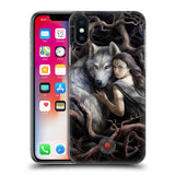 Official Anne Stokes Wolves 2 Hard Back Case for Apple iPhone X / iPhone XS