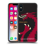 Official HBO Game of Thrones Graphics Hard Back Case for Apple iPhone X / iPhone XS