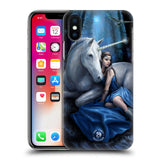 Official Anne Stokes Unicorns Hard Back Case for Apple iPhone X / iPhone XS