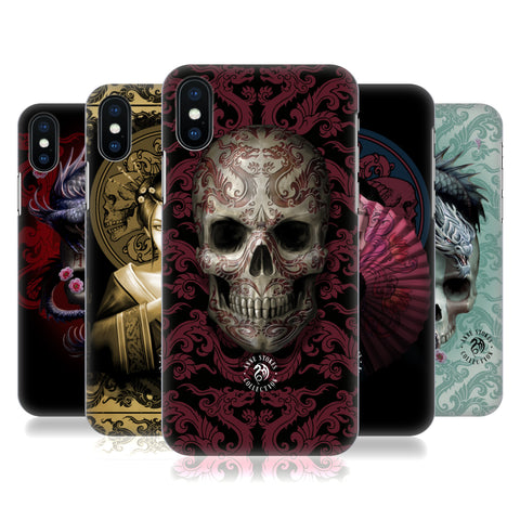 Official Anne Stokes Oriental Skull Hard Back Case for Apple iPhone X / iPhone XS