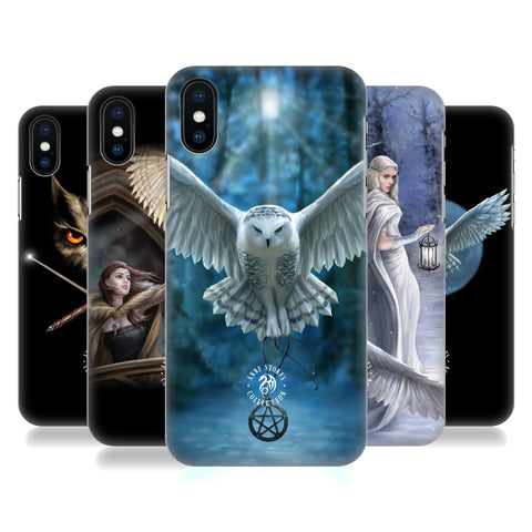 Official Anne Stokes Owls Hard Back Case for Apple iPhone X / iPhone XS