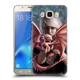 Official Anne Stokes Dragon Friendship Hard Back Case for Samsung Galaxy J5 (2016)