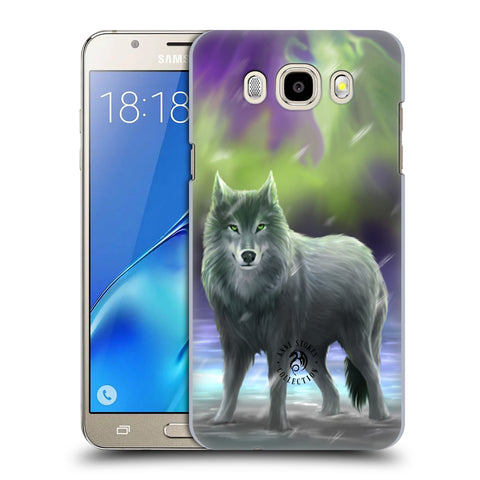 Official Anne Stokes Wolves Hard Back Case for Samsung Galaxy J5 (2016)