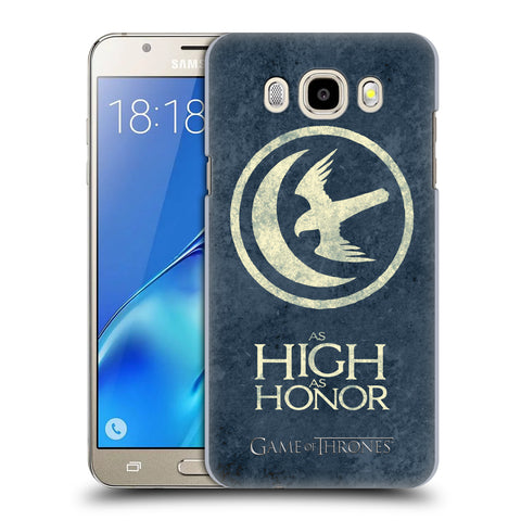 Official HBO Game of Thrones Dark Distressed Sigils Hard Back Case for Samsung Galaxy J5 (2016)