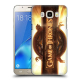 Official HBO Game of Thrones Key Art Hard Back Case for Samsung Galaxy J5 (2016)
