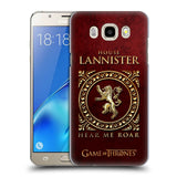 Official HBO Game of Thrones Metallic Sigils Hard Back Case for Samsung Galaxy J5 (2016)