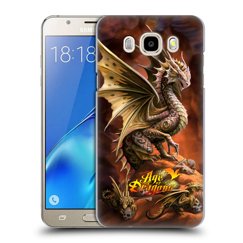 Official Anne Stokes Age Of Dragons Hard Back Case for Samsung Galaxy J5 (2016)