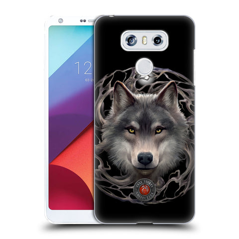 Official Anne Stokes Wolves 2 Hard Back Case for LG G6